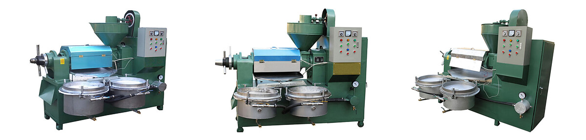 Automatic screw oil press introduction