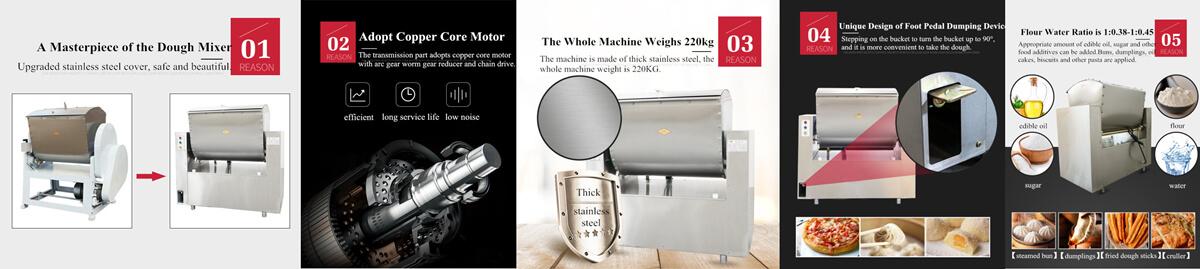 Dough mixer introductions