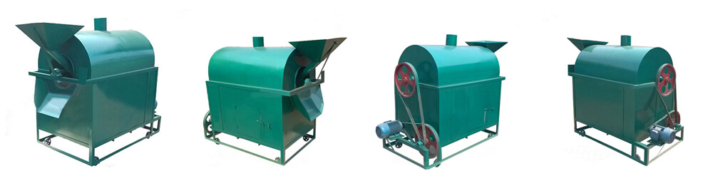 Introduction of oilseeds roasting machine