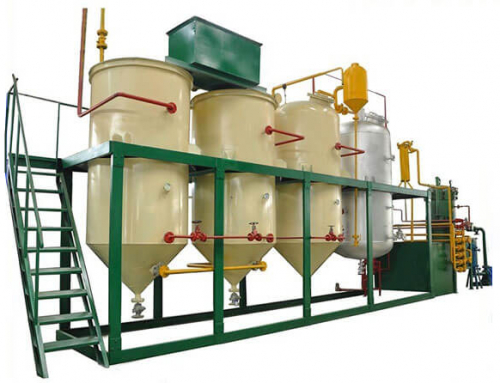 Oil Refinery Machine