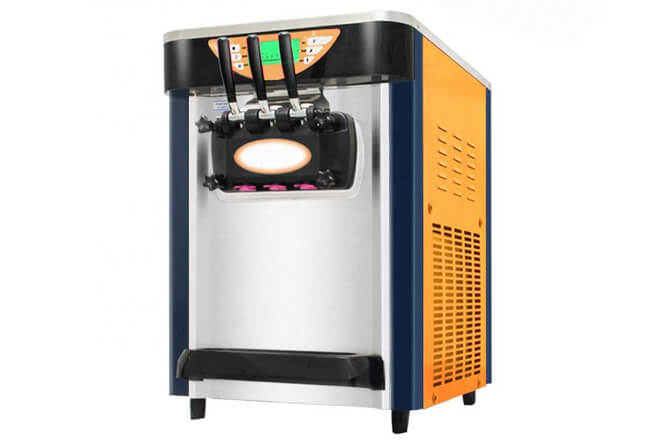 Soft Serve Ice Cream Yogurt Frozen Making Machine