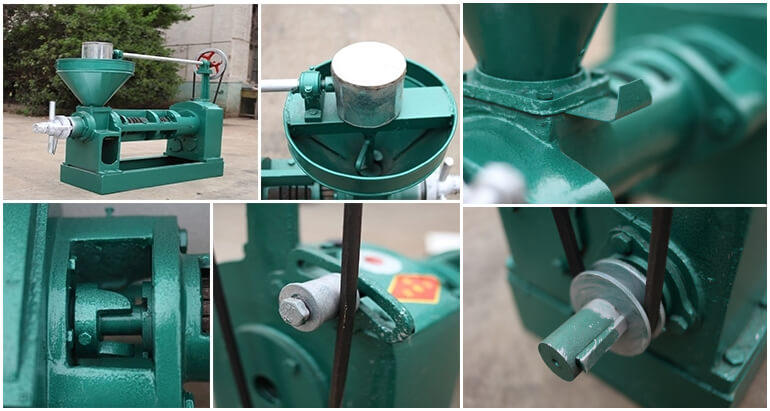 The advantages of sunflower screw oil press