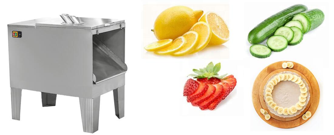 automatic banana slicing machine