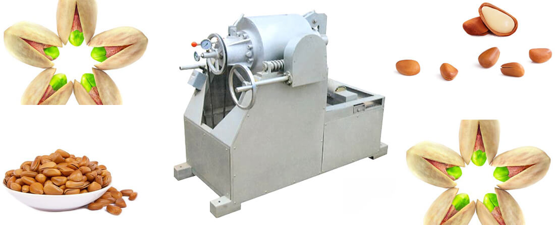automatic nut opening equipment