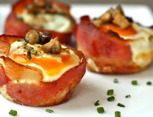 Breakfast Bacon and Egg Tarts