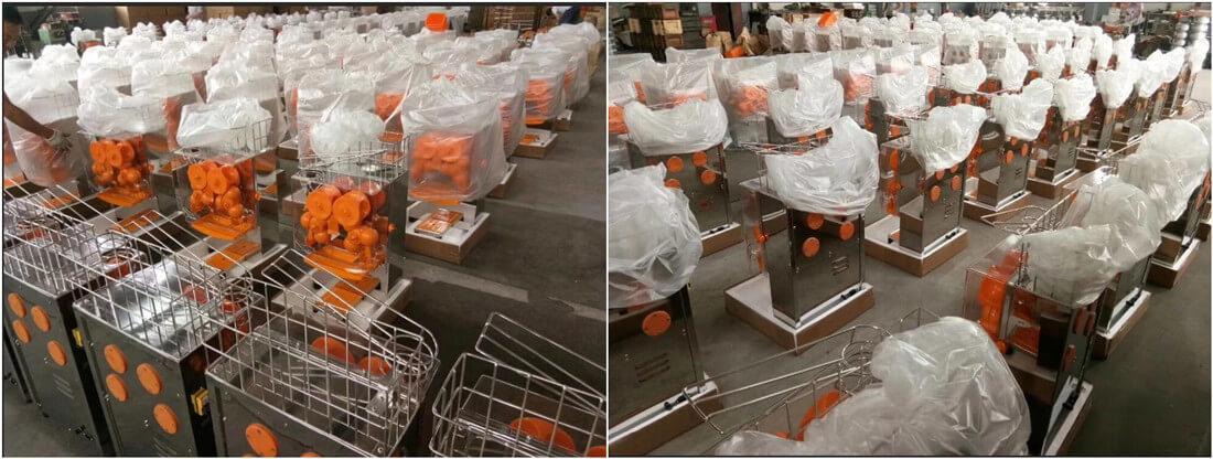 best made automatic orange juice machine