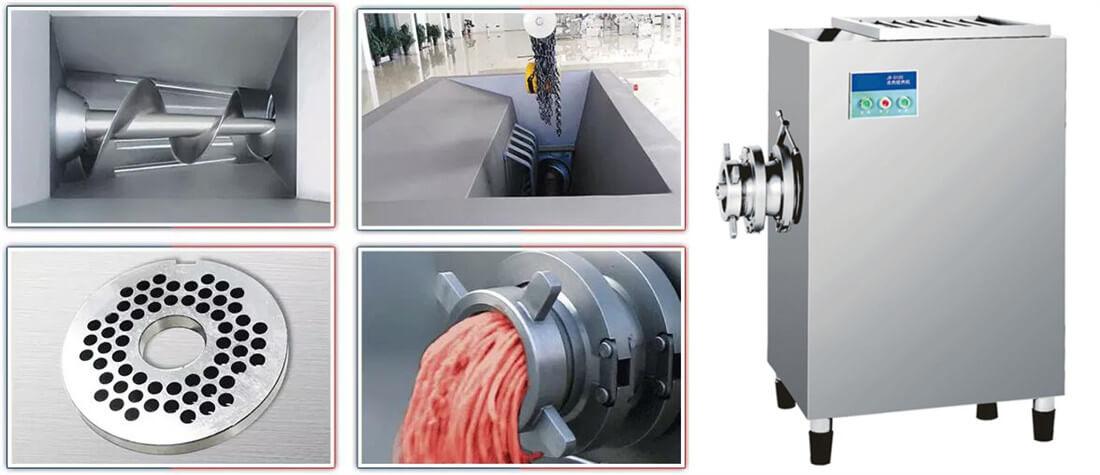 commercial meat grinder
