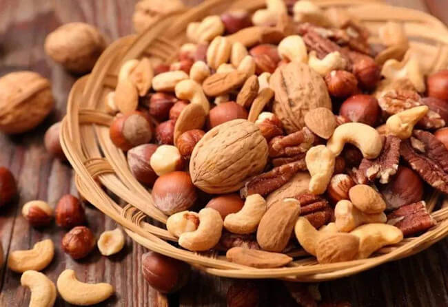 eat nuts healthily