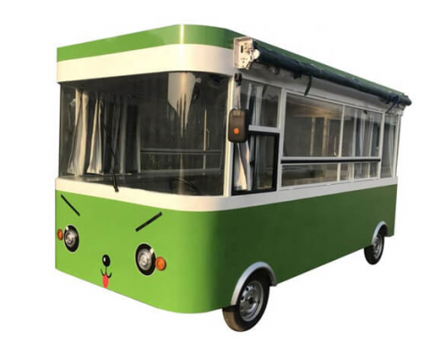Electric Food Bus