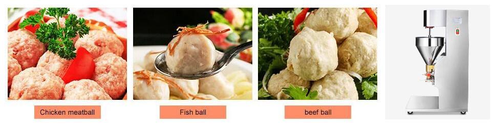 meatball maker machine can produce various meatballs