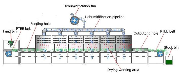 microwave dryers structure details