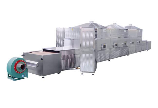 Microwave Food Drying &Sterilizing Machine