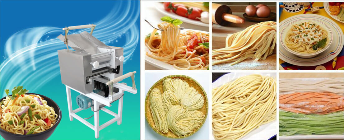 noodles making machine application