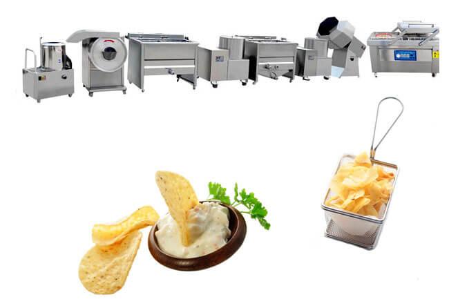 small potato chips production line