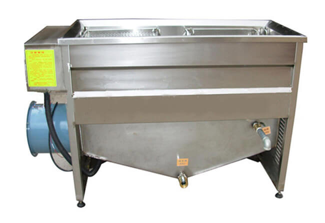 stainless steel potato chip frying machine
