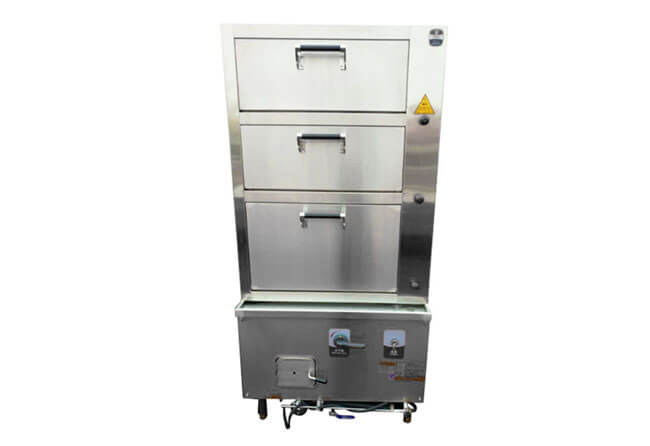 steamed food cooking cabinet