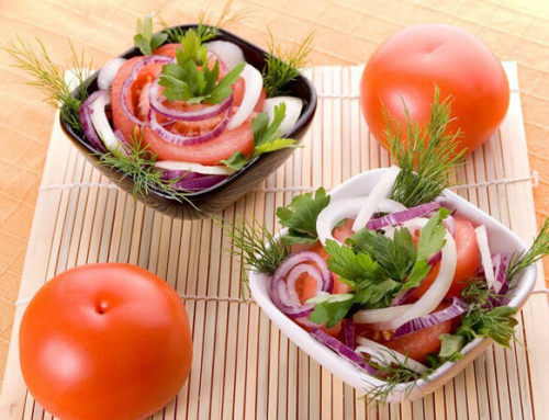 Fresh Tomato Onion Salad