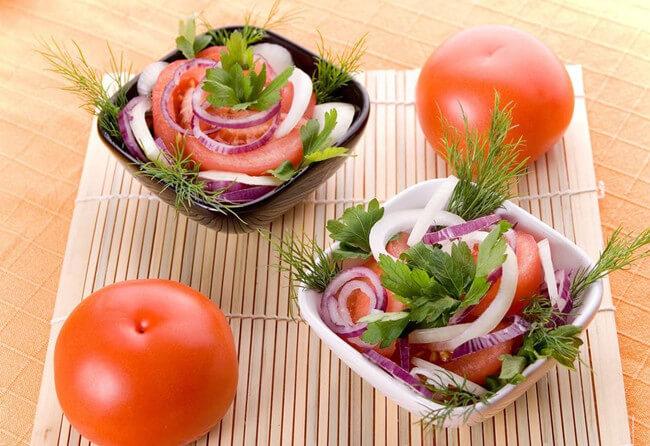 Fresh Tomato Onion Salad