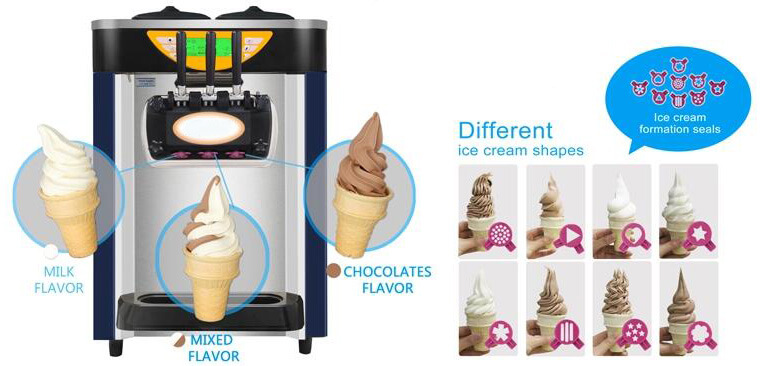 what can Soft serve ice cream machine do
